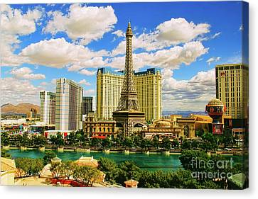 Las Vegas Dream Canvas Print by Mariola Bitner