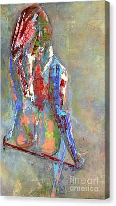 Last Dance Canvas Print by Johnny Johnston