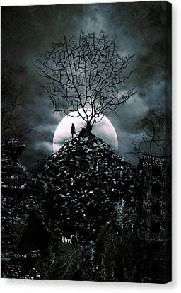 Last Day  Canvas Print by Cambion Art