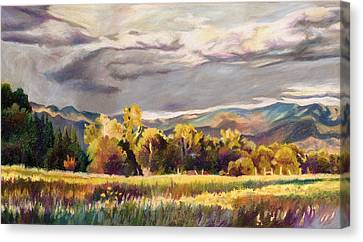 Last Light Canvas Print by Anne Gifford