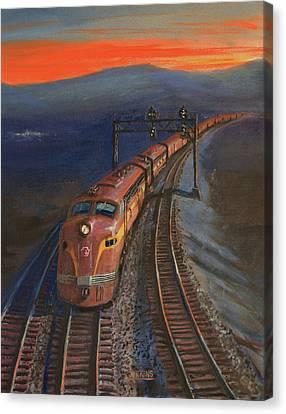 Last Light Canvas Print by Christopher Jenkins