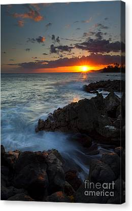 Last Light Over Paradise Canvas Print by Mike  Dawson