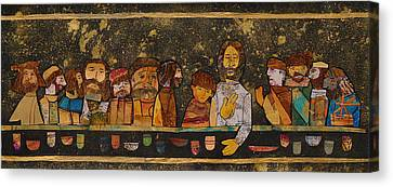 Last Supper 2 Canvas Print by Carol Cole