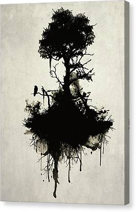 Last Tree Standing Canvas Print by Nicklas Gustafsson
