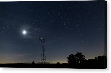 Late Summer Early Morning Canvas Print by Bill Wakeley