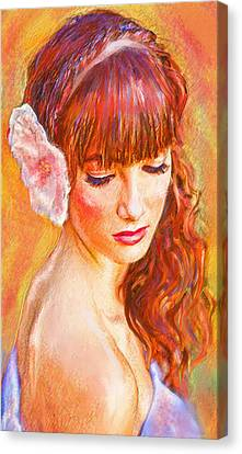 Latina Beauty Canvas Print by Jane Schnetlage