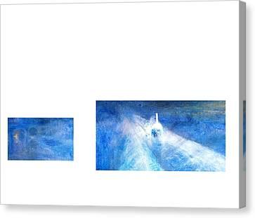 Layered 21 Turner Canvas Print by David Bridburg