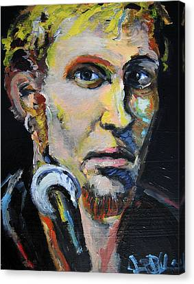 Layne Staley Canvas Print by Jon Baldwin  Art