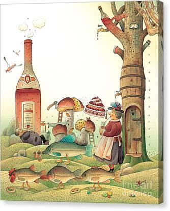 Lazinessland03 Canvas Print by Kestutis Kasparavicius
