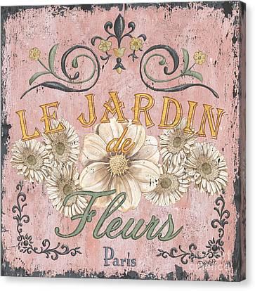 Le Jardin 1 Canvas Print by Debbie DeWitt