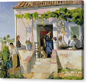Le Mazet Canvas Print by Armand Coussens