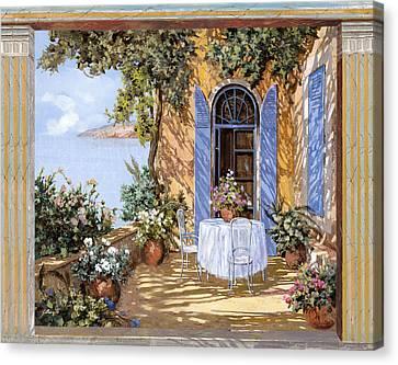 Le Porte Blu Canvas Print by Guido Borelli
