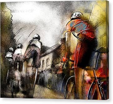 Le Tour De France 06 Canvas Print by Miki De Goodaboom