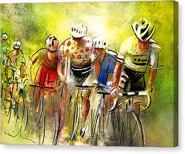 Le Tour De France 07 Canvas Print by Miki De Goodaboom
