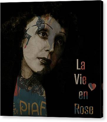 Le Vie En Rose  Canvas Print by Paul Lovering