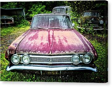 Leader Of The Pack 1964 Buick Canvas Print by Debra and Dave Vanderlaan