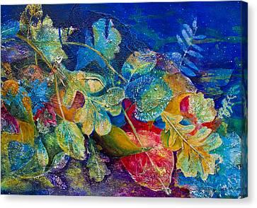 Leafin An Imprint Canvas Print by Jo-Anne Gazo-McKim