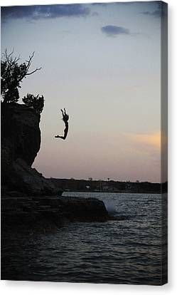 Leap For Joy Canvas Print by Emily Olson