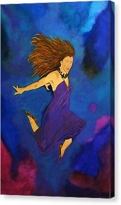 Leap Of Faith Canvas Print by Bill Manson