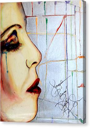 Leave Me Canvas Print by Joseph Lawrence Vasile