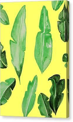 Leaves Canvas Print by Cortney Herron