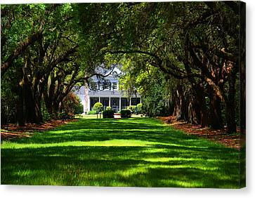 Legare Waring House Charleston Sc Canvas Print by Susanne Van Hulst