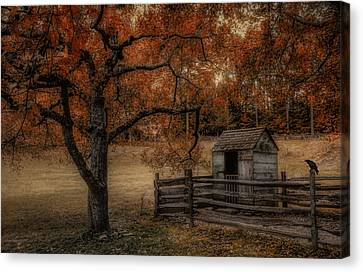 Legend Of The Fall Canvas Print by Robin-lee Vieira