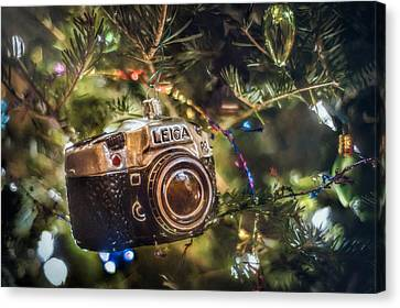 Leica Christmas Canvas Print by Scott Norris