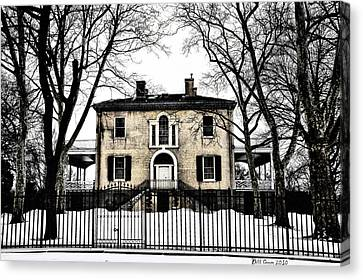 Lemon Hill Mansion - Philadelphia Canvas Print by Bill Cannon