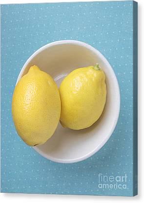 Lemon Pop Canvas Print by Edward Fielding