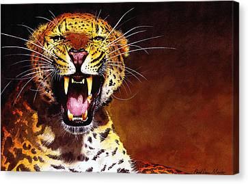 Leopard Canvas Print by Paul Dene Marlor
