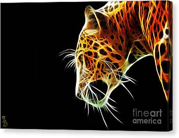 Leopard Canvas Print by The DigArtisT