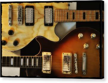 Les Paul - Come Together Canvas Print by Bill Cannon