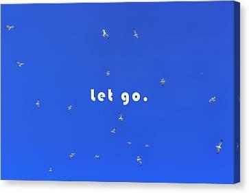 Let Go Canvas Print by Joana Kruse