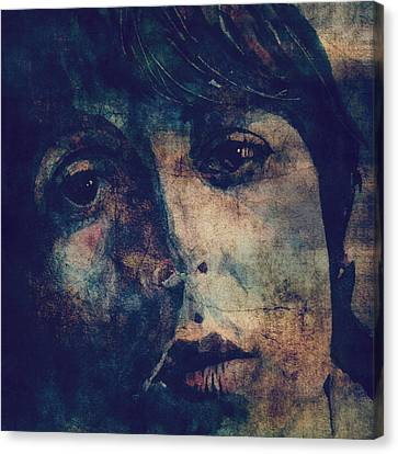 Let It Roll / 2 Canvas Print by Paul Lovering