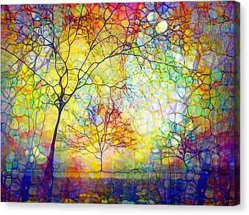Let There Be Joy Canvas Print by Tara Turner