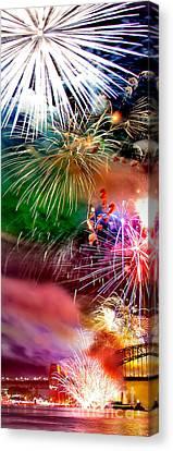 Let's Celebrate Canvas Print by Az Jackson