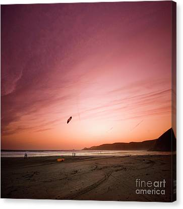 Lets Go Fly A Kite Canvas Print by Angel  Tarantella
