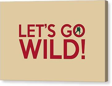Let's Go Wild Canvas Print by Florian Rodarte