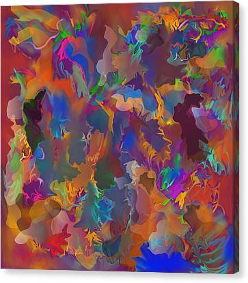 Level 4 Matrix Canvas Print by Peter Shor