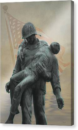 Liberation Monument Canvas Print by Tom York Images