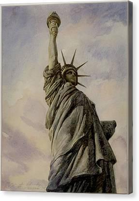 Liberte Canvas Print by Vladimir Rumianzev