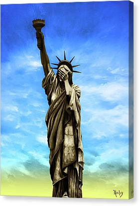 Liberty 2016 Canvas Print by Kd Neeley