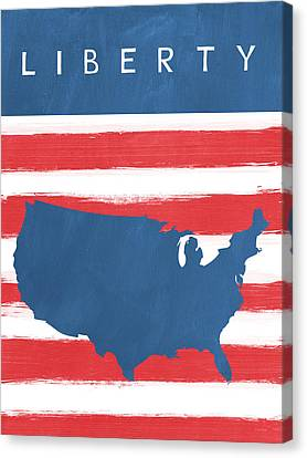 Liberty Canvas Print by Linda Woods