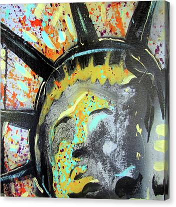 Liberty Canvas Print by Robert Wolverton Jr