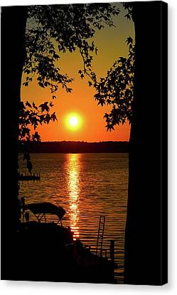 Life Is A Sunset Canvas Print by Tony Hill