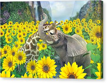Life Is Good Canvas Print by Betsy Knapp