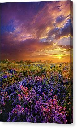 Life Is Measured In Moments Canvas Print by Phil Koch