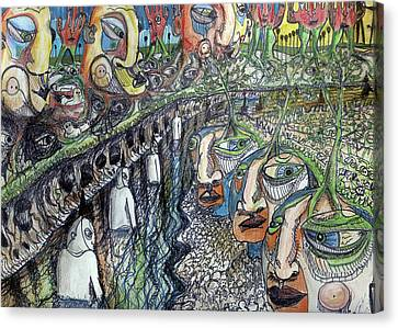 Life Canvas Print by Robert Wolverton Jr