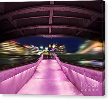 Life Under The City In Geneva Canvas Print by Chris Smith